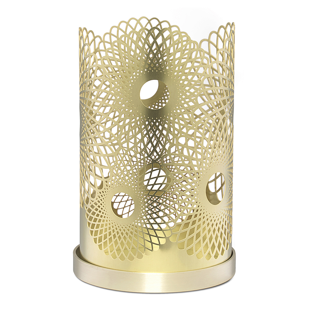 the london collection votive candleholder lara bohinc swedish design scandinavian brass copper black white etching shop suite ny