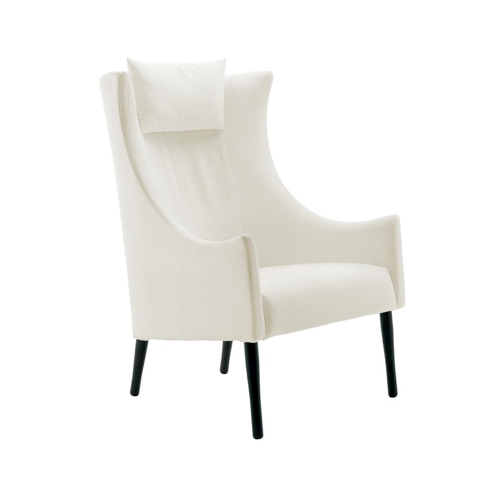 Tondo Chair designed by Vico Magistretti with Brigit Lohmann for De Padova.