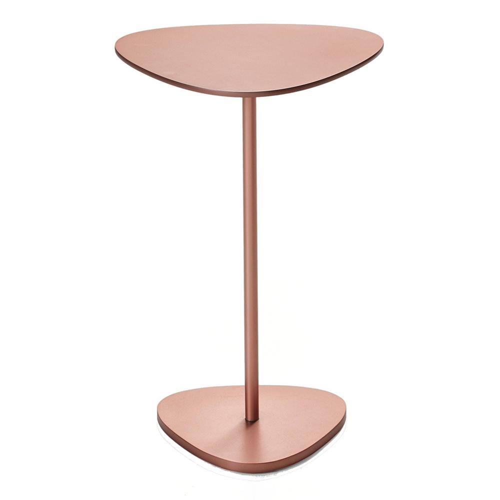 trigon side table bassamfellows Craig Bassam contemporary designer modern metal side table