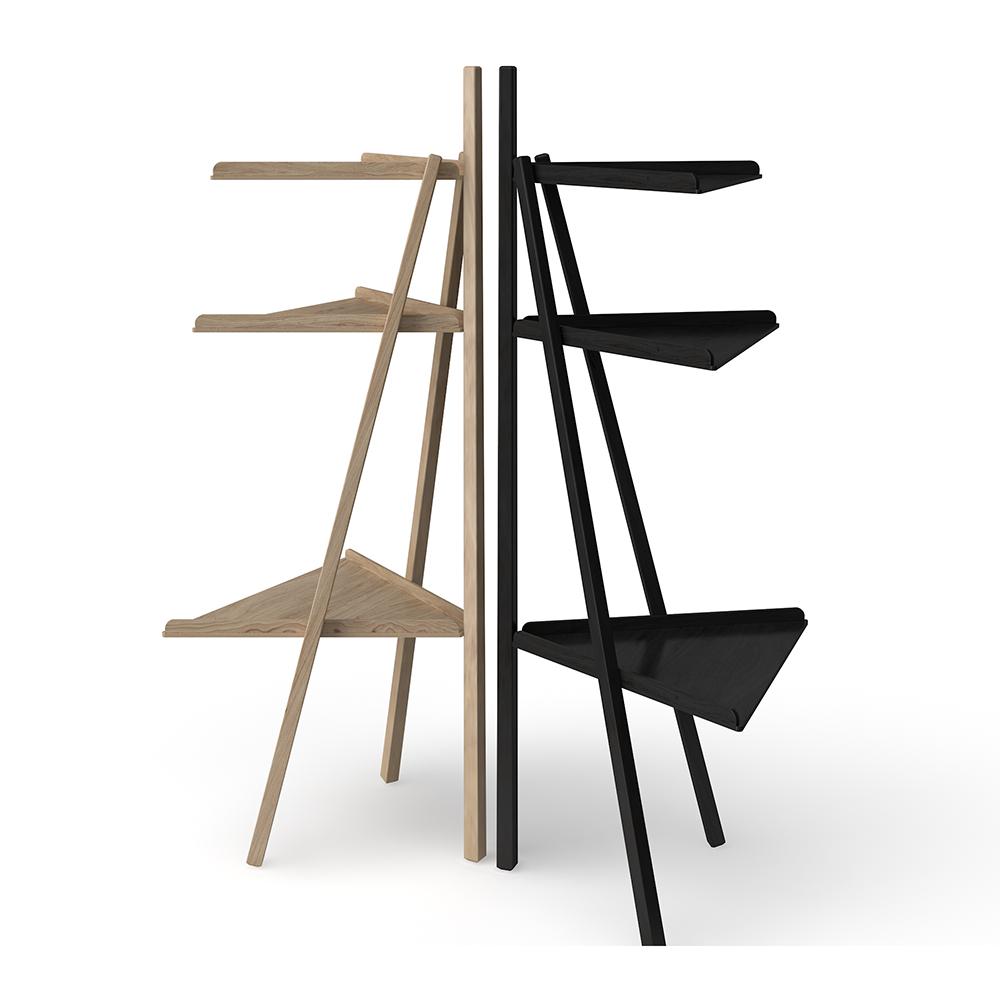 trio achille castiglioni giancarlo pozzi karakter small modern shelving unit