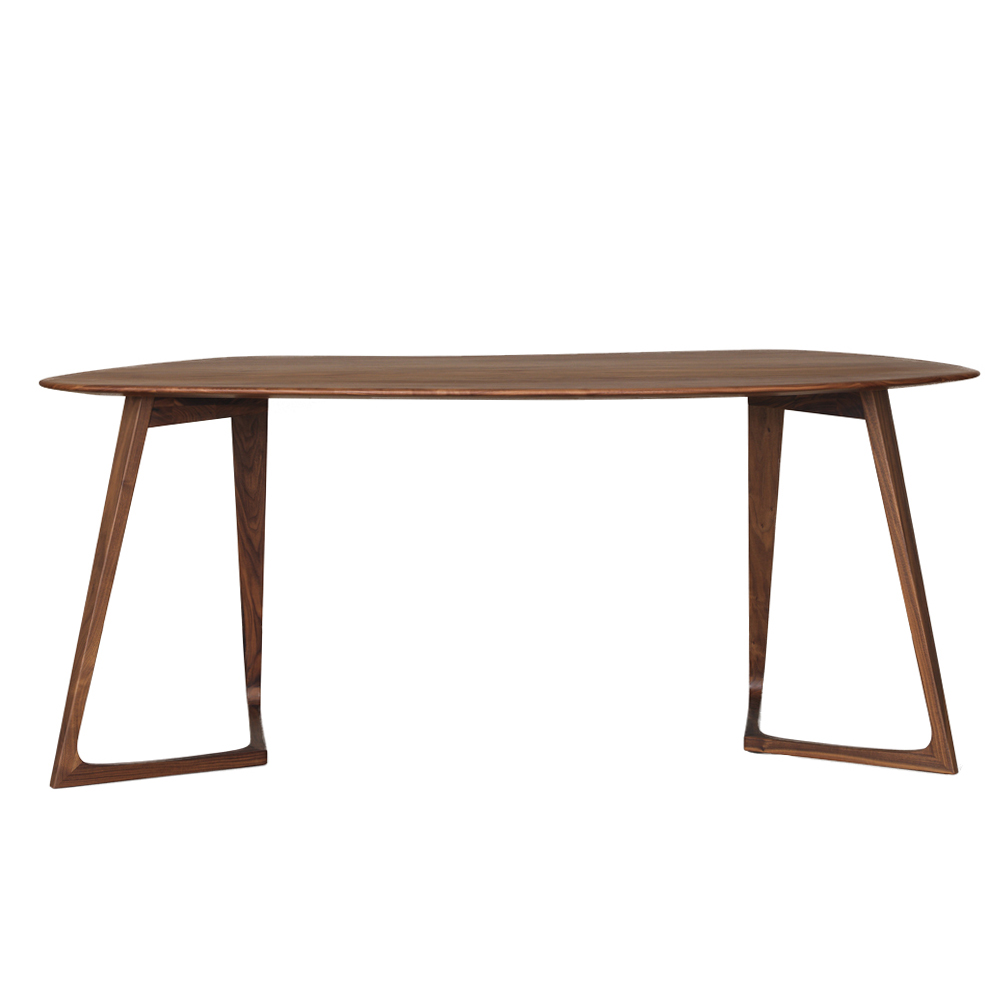 Twist Office Solid wood desk by Formstelle for Zeitraum for SUITE NY