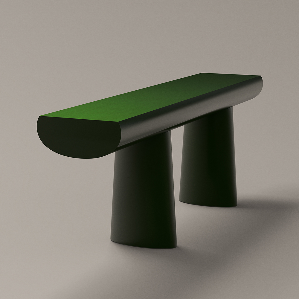 urushi green table aldo bakker karakter