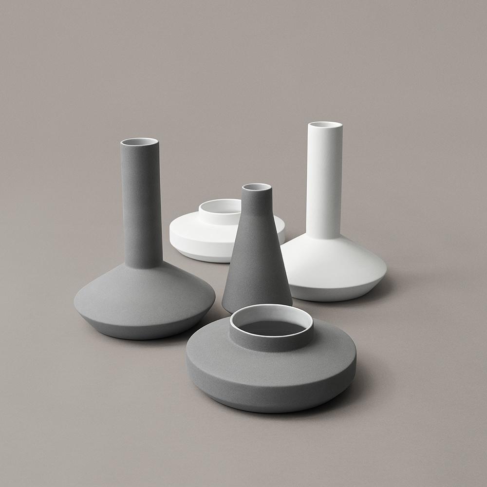 vases milia seyppel karater modern home accessories designer flower vase