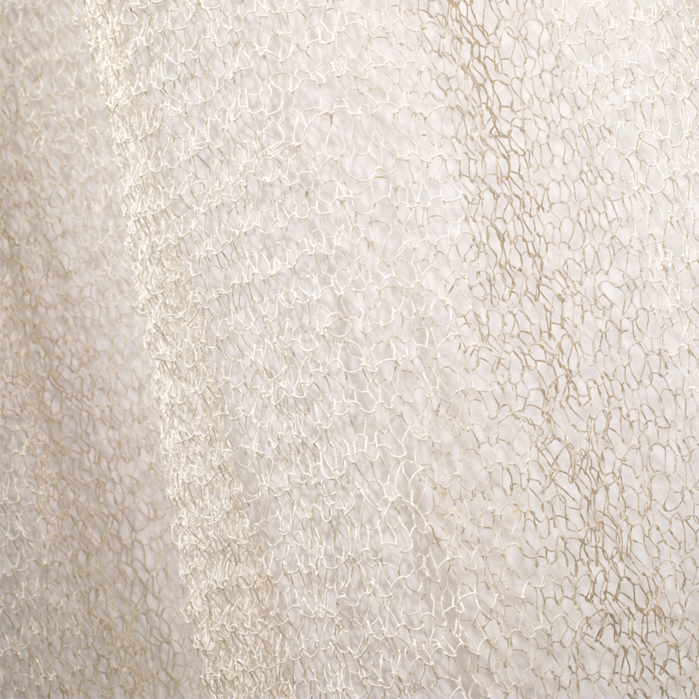 Veil loose weave curtain Ritva Puotila paper Yarn Woodnotes