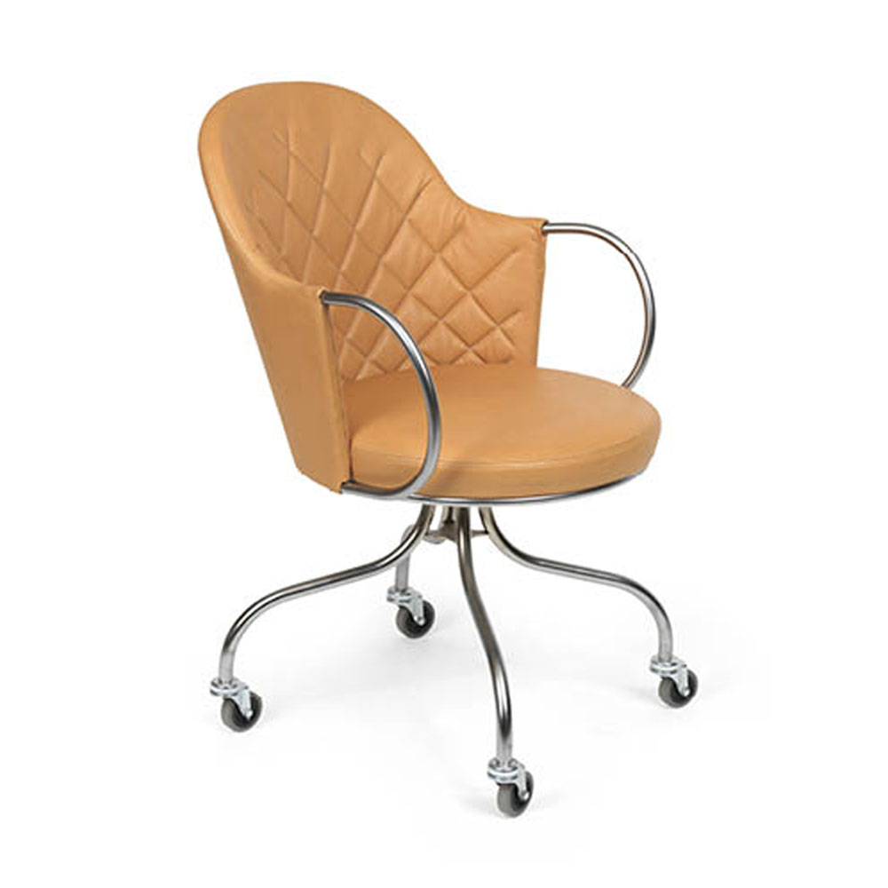 vienna pierre sindre kallemo contemporary modern designer quilted back upholstered task chair