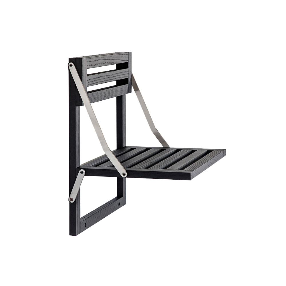 wall seat ole scholl a petersen modern contemporary danish designer wall mounted chair