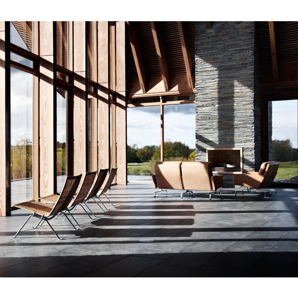 PK31 Sofa designed by Poul Kjaerholm for Fritz Hansen