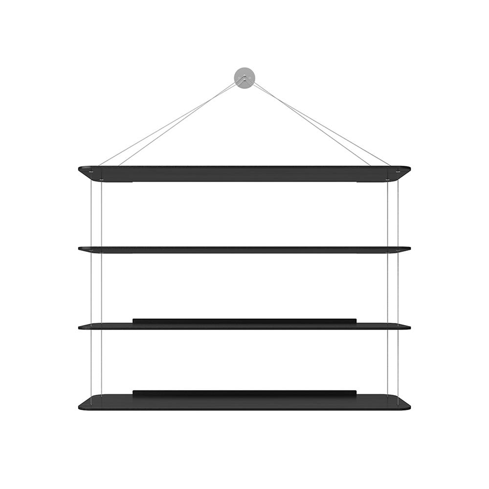 wire book case achille castiglioni pier giacomo castiglioni karakter modern floating book case