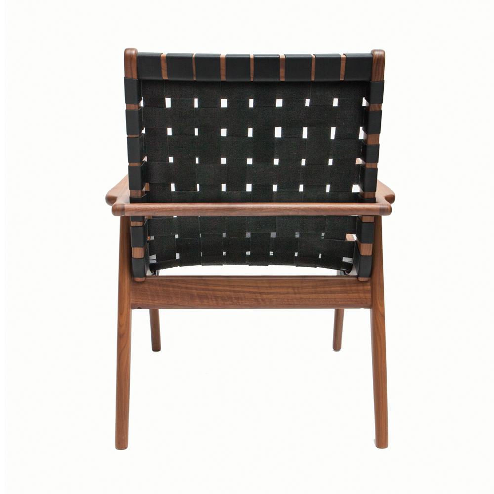 About A Chair 22 Armchair.Wlc 22 Woven Leather Armchair Mel Smilow Suite Ny