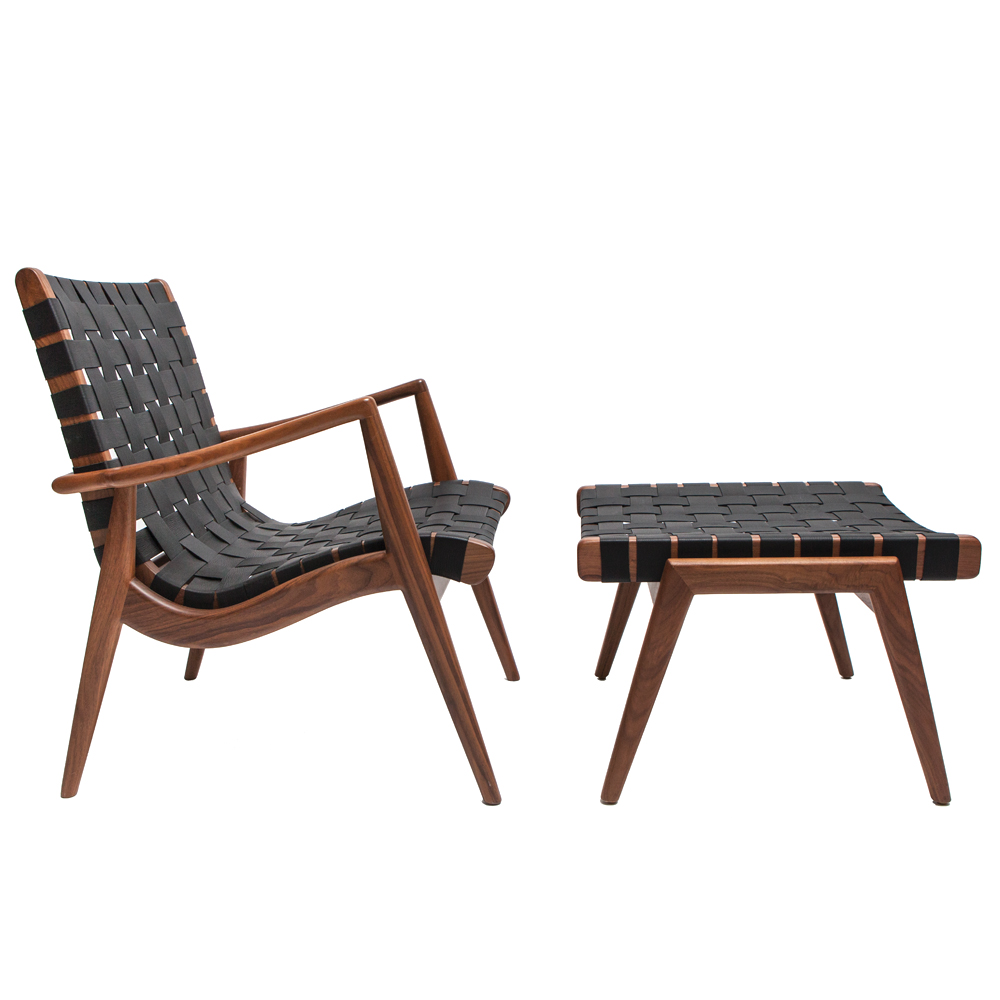 Superbe WLC 22 Woven Leather Armchair
