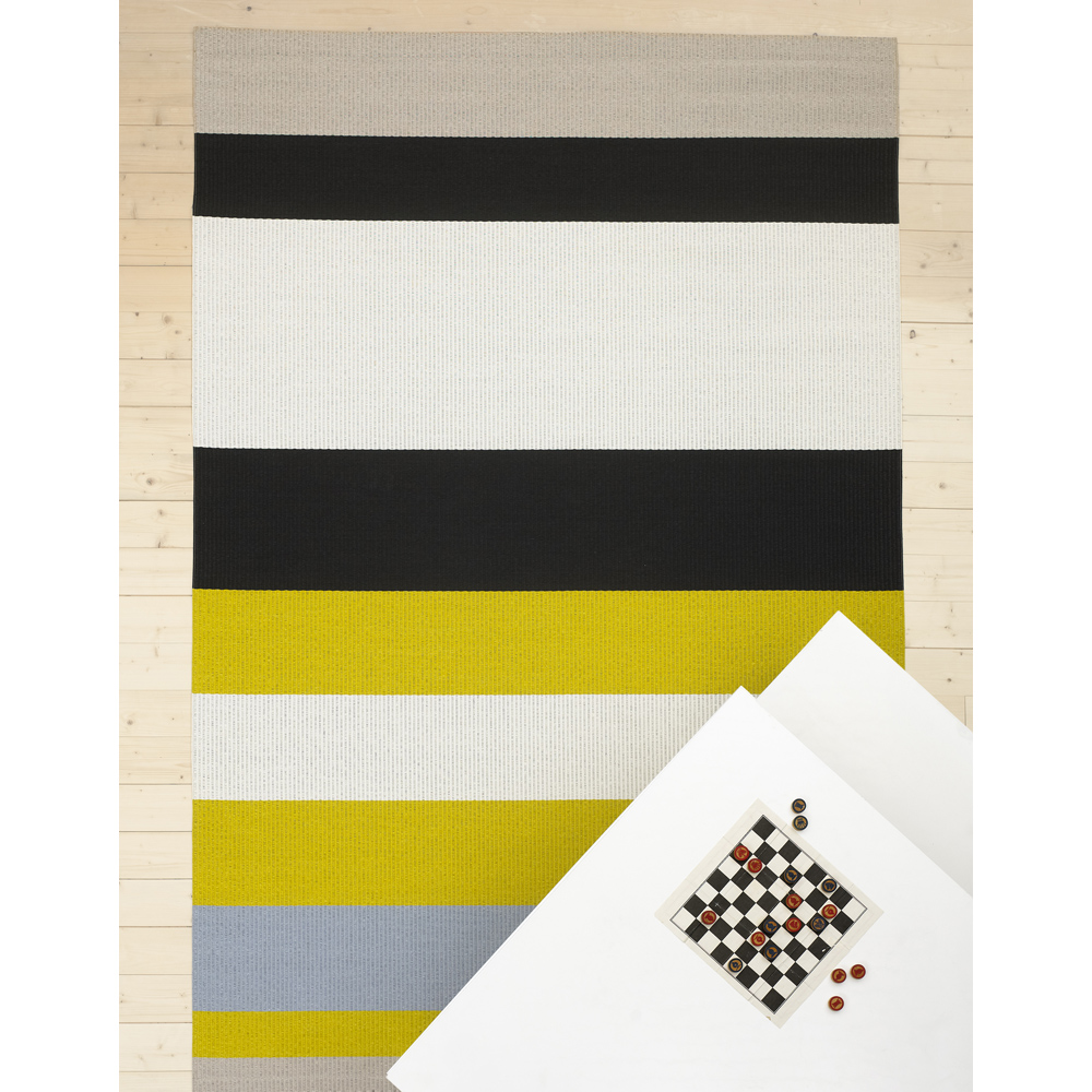 Avenue paperyarn carpet designed by Ritva Puotila for Woodnotes