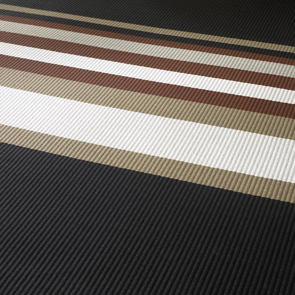 Horizon paperyarn carpet designed by Ritva Puotila for Woodnotes