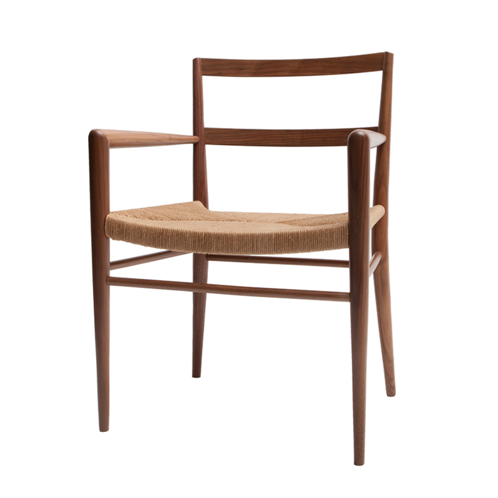 Rush dining armchair Mel Smilow furniture modern american design