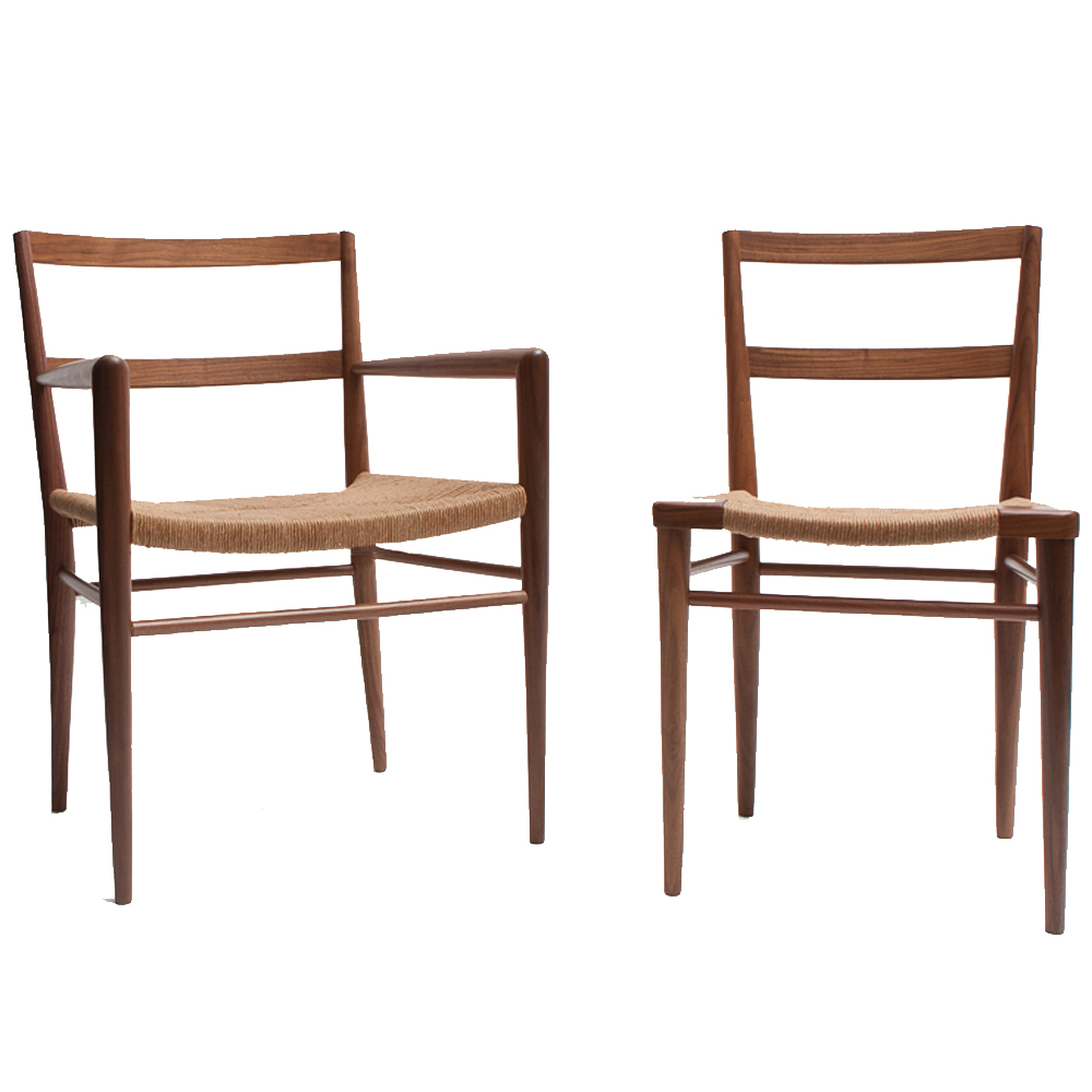 Woven Rush Dining Chair