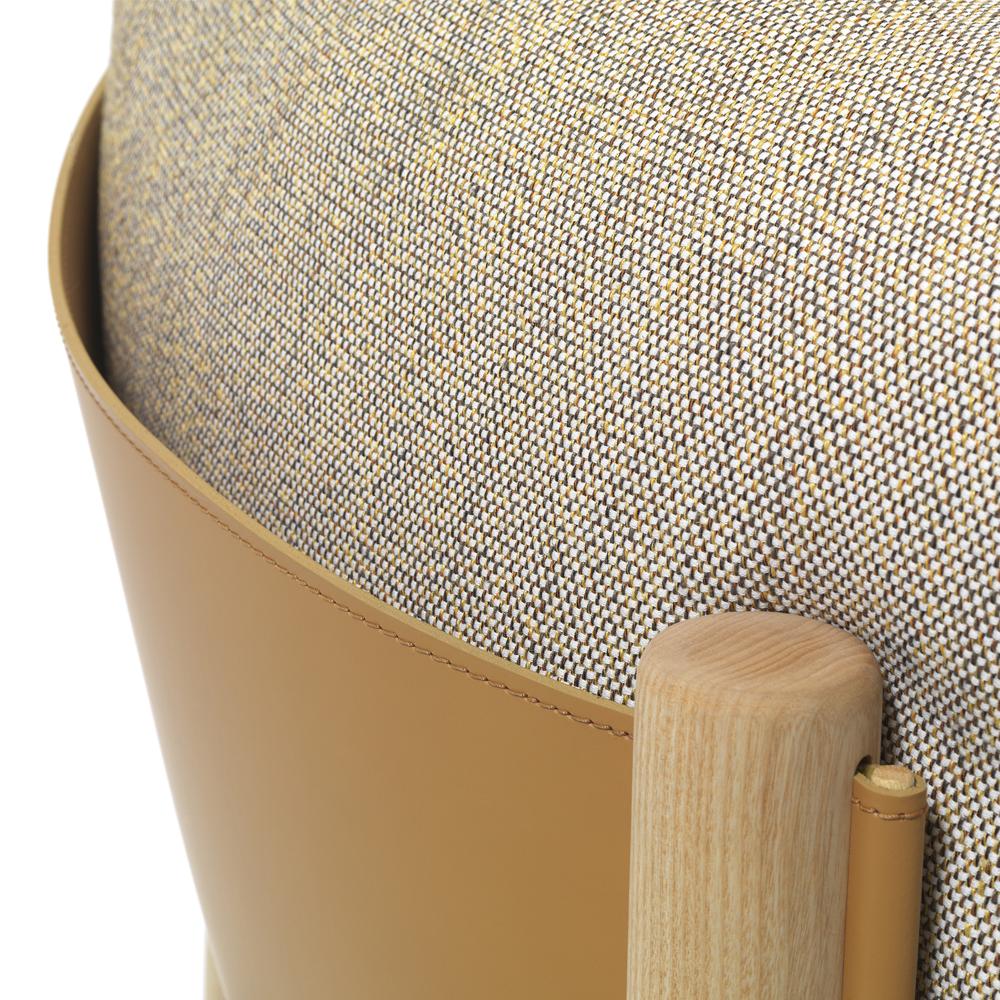 Yak armchair lucidi pevere depadova modern italian design de padova lucidipevere primitive leather lounge