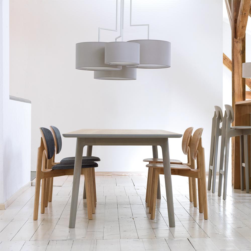 Zenso Designer Modern Contemporary European Wood Chair Zeitraum
