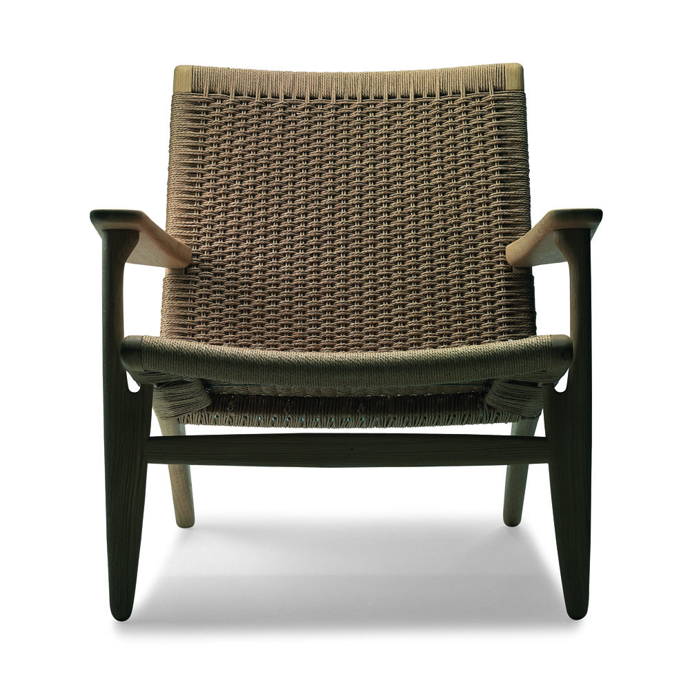 CH25 Easy Chair   Oak/Oil + Natural Papercord ...