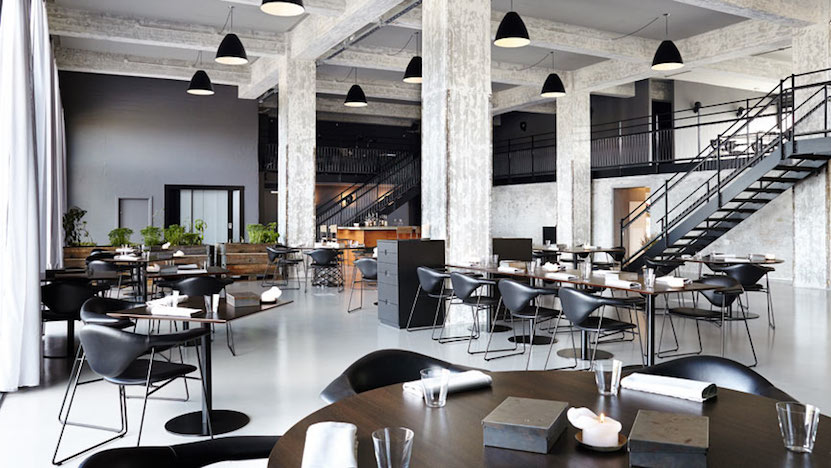 Shop SUITE NY for the Masculo chair by GamFratesi for GUBI as seen in Amass restaurant by in Copenhagen. SUITE NY is the premier source for contemporary commercial furnishings and contract design.