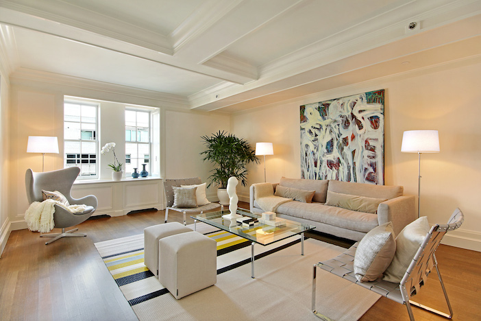 THE MARK apartment building modern luxury condo staging