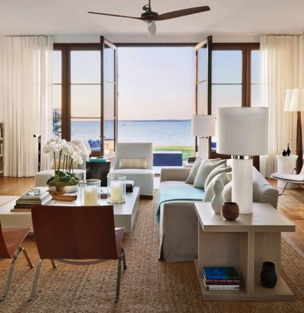 architectural digest, frank greenwald, foley cox, architects, hamptons, hamptons homes, iconic, poul kjaerholm, fabricius kastholm