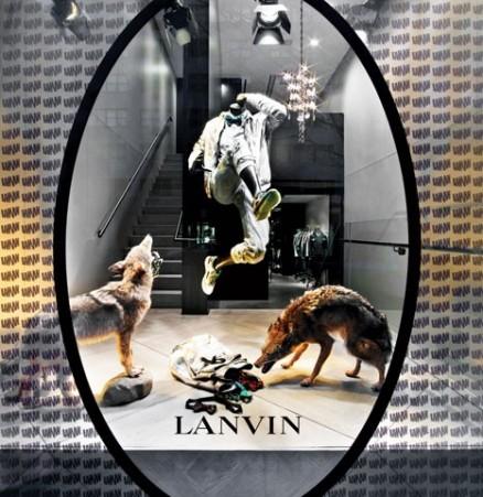 Lanvin, lanvin men's boutique, david mann, mr architecture, mr architecture + decor, alber elbaz, fashion, boutique design, madison avenue, modern design, fk710, skater chair, lange production, fabricius kastholm