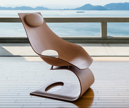 SUITE NY Dream Chair Tadao Ando Carl Hansen