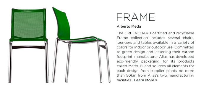 BigFrame chair by Alberto Meda Alias