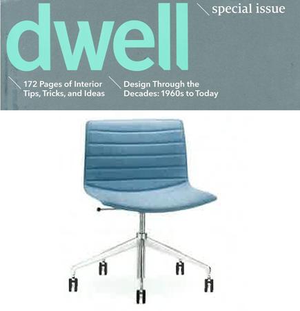 Dwell Magazine April 2014 Arper CAtifa Lievore Altherr Molina