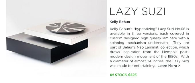 Shop SUITENY.COM for Kelly Behun Studio's Neo Laminati Lazi Suzi no.66 inspired by the Memphis Group design movement