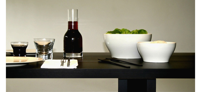 Shop SUITENY.COM for John Pawson contemporary dinnerware, glasses and carafes by When Objects Work