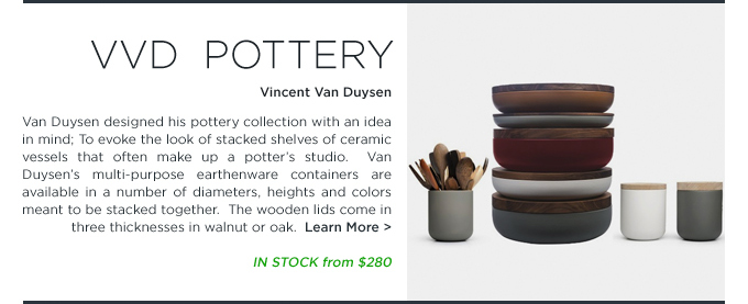 Shop SUITENY.COM for Vincent Van Duysen VVD Pottery ceramic earthenware for when objects work