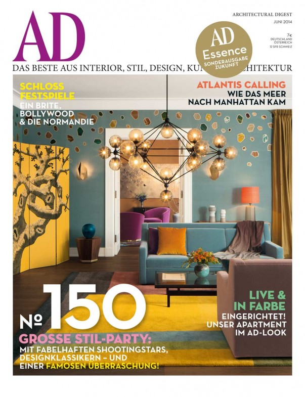 kelly behun studio 39 s neo laminati chair in architectural digest germany june 2014 issue. Black Bedroom Furniture Sets. Home Design Ideas