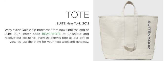 SUITE NY Tote bag