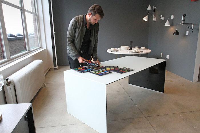 glas itlia, sebastian herkner, new york times, tim mckeough, glass, furniture, glass furniture, Suite NY