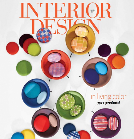 Interior Design 2014 Spring Market Guide cover