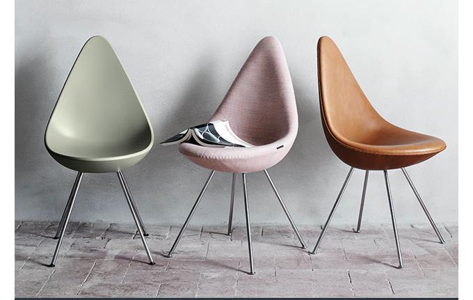 SUITE NY, Drop Chair, Arne Jacobsen, Fritz Hansen