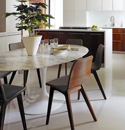 Amy Lau Fifth Avenue Apartment Kitchen