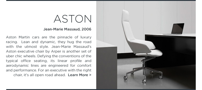 Aston, office chair, Arper, Jean-Marie Massaud, white task chair