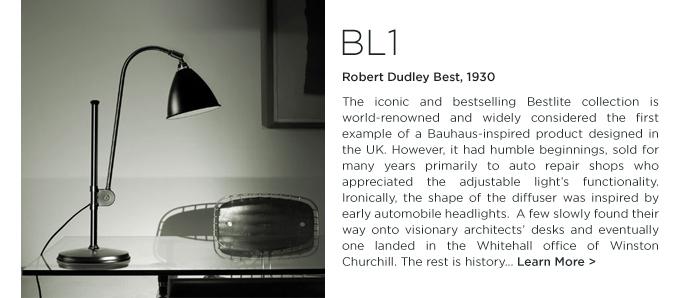 BL1 table lamp bestlite gubi Robert Dudley Best