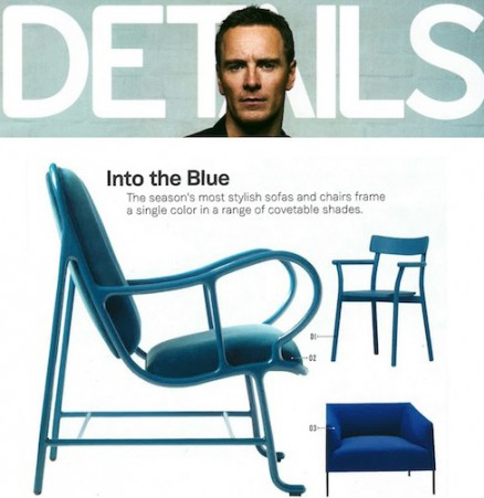 blue, blue furniture, chair, Saari XL Chair, Lievore Altherr Molina, contemporary, contemporary furniture, Arper, SUITE NY