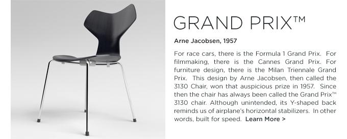 Grand Prix, 3130 chair, modern chair, Arne Jacobsen, Fritz Hansen