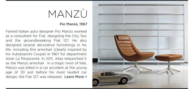 Pio Manzu Chair Alias