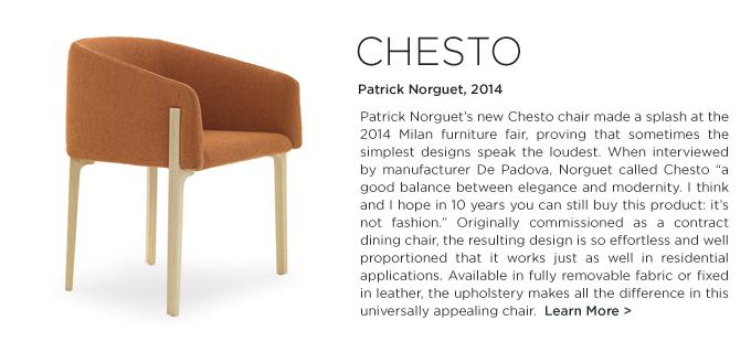 Chesto Chair, Patrick Norguet, DePadova, DePadova, orange