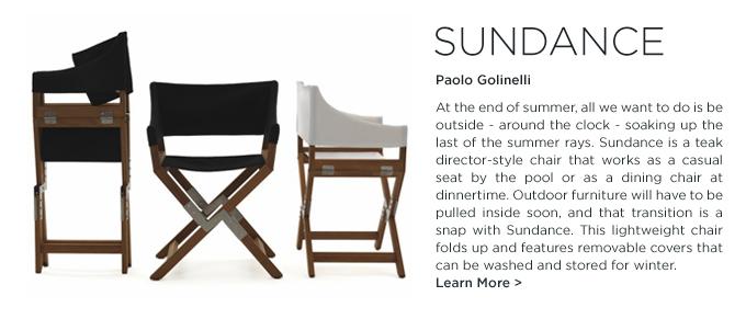 De Padova, DePadova, Sundance, Paolo Golinelli, Sundance chair, outdoor chair, orange, outdoor seating, Indian Summer