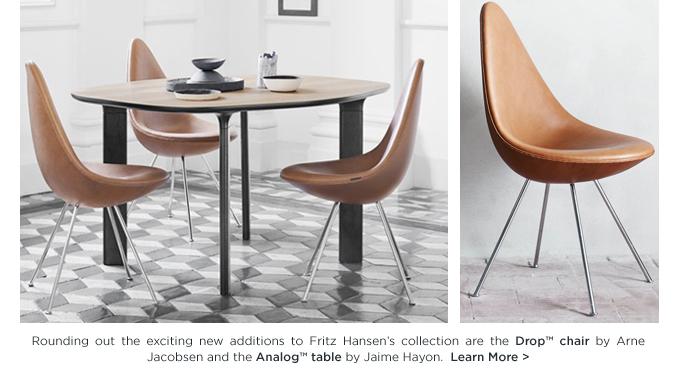 Arne Jacobsen, Drop Chair, Fritz Hansen, danish design