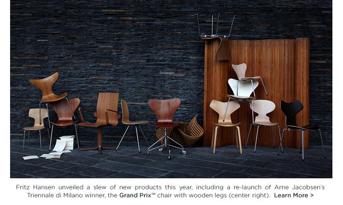 Arne Jacobsen, Grand Prix wood legs, Fritz Hansen
