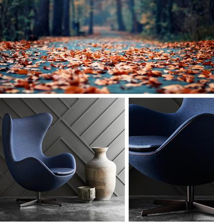 Limited Edition Choice Egg Chair, Arne Jacobsen, Fritz Hansen, Kvadrat