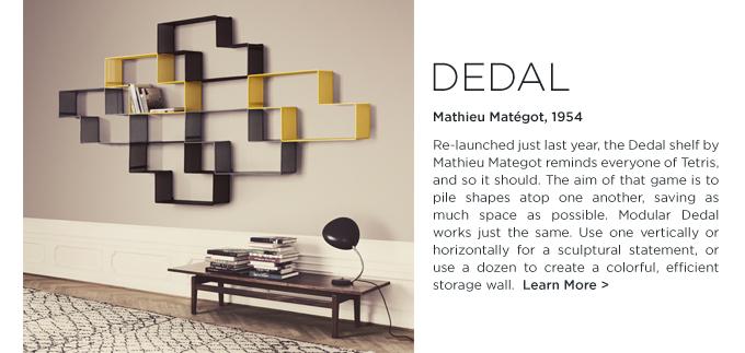Dedal shelf, Mathieu Mategot, GUBI