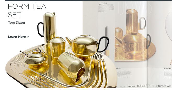 Tom Dixon, Form Tea Set, Kitchen accessories, home accessories, home decor, suiteny, suite ny, suiteny.com
