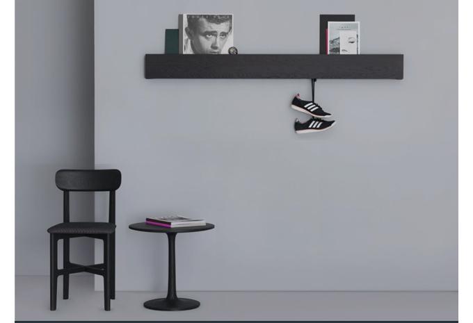 zeitraum, hide and park, kaschkasch, hide&park, hide park, modern shelf, modern hallway mail holder, contemporary wood wall catchall